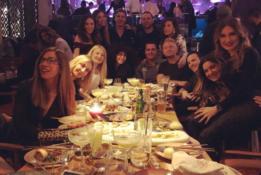 Σκορδά – Χρουσαλά – Καλομοίρα: Διασκέδασαν μέχρι το πρωί στα γενέθλια διάσημου φίλου τους! [pics,video] | tlife.gr