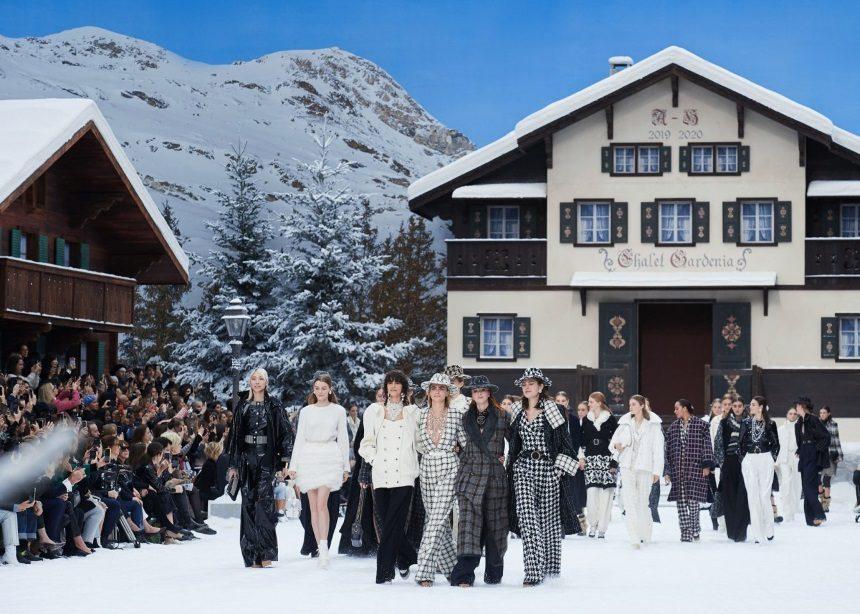 Πώς στήθηκε το τελευταίο catwalk του Karl Lagerfeld για την Chanel | tlife.gr