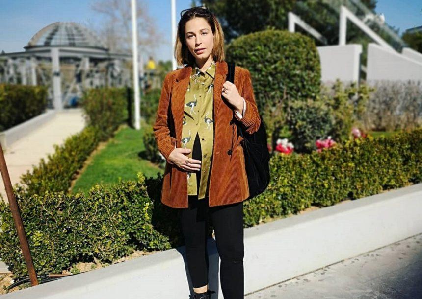 Κατερίνα Παπουτσάκη: Η πρώτη βόλτα με τον νεογέννητο γιο της, 21 μέρες μετά τη γέννησή του! [pic]   tlife.gr