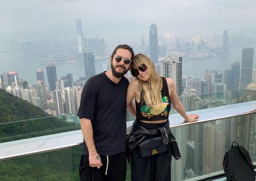 Heidi Klum: Ρομαντικό ταξίδι με τον σύντροφο της στο Hong Kong! [pics] | tlife.gr