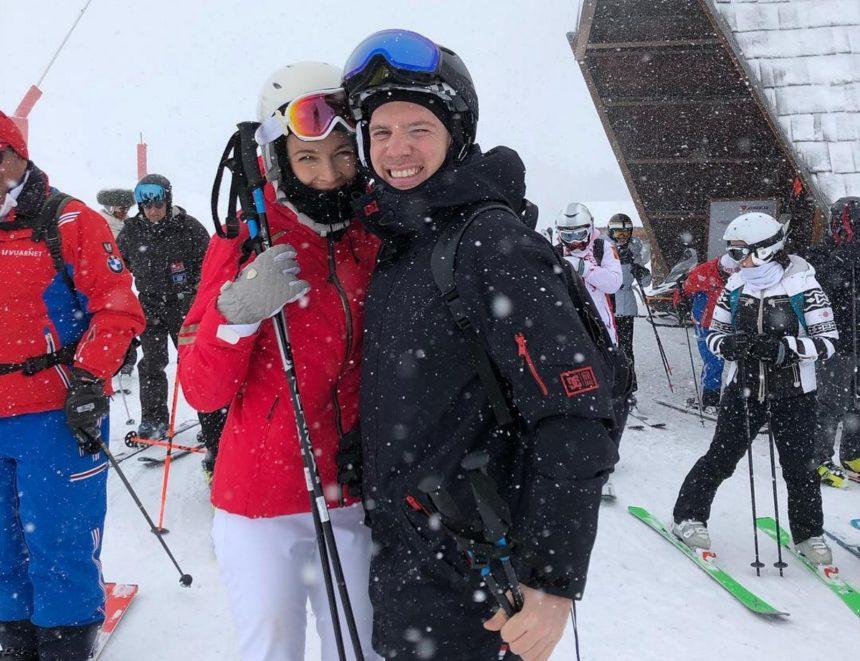 Μαριέττα Χρουσαλά: Γενέθλια στην χιονισμένη Κουρσεβέλ της Γαλλίας με τον Λέοντα Πατίτσα! [pics,video] | tlife.gr