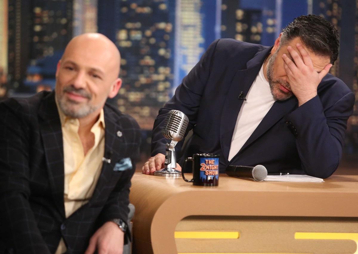 Ο ΓρηγόρηςΑρναούτογλου συναντά τον Νίκο Μουτσινά – Η απίθανη έκπληξη στο πλατό του «The 2Night Show»!   tlife.gr