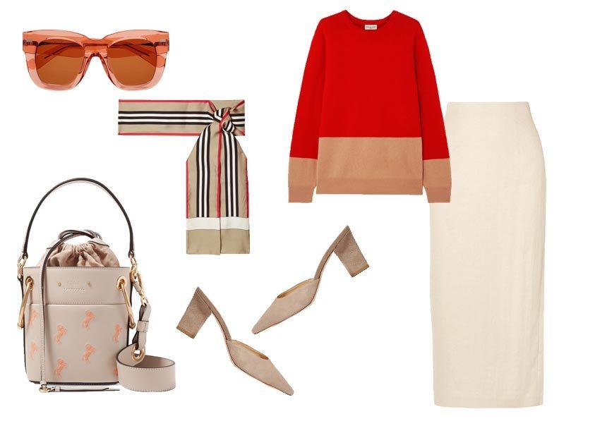 Kόκκινο-μπεζ αυτός είναι ο πιο chic συνδυασμός τώρα!Δες πως θα τον φορέσεις σε ένα total look | tlife.gr