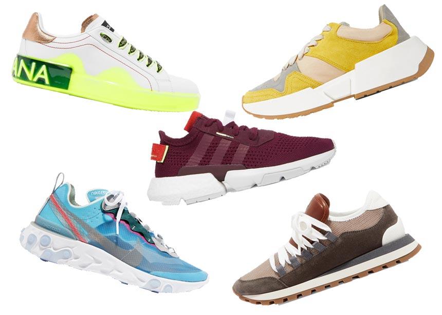 Τα sneakers είναι τα πιο cool παπούτσια για αυτή την εποχή κι εμείς σου βρήκαμε τα πιο stylish σχέδια στο Net-a-Porter.