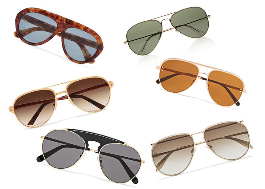 Τα aviator sunglasses είναι must αυτή τη σεζόν! Γι' αυτό κι εμείς βρήκαμε τα πιο stylish σχέδια στο Net-a-Porter   tlife.gr