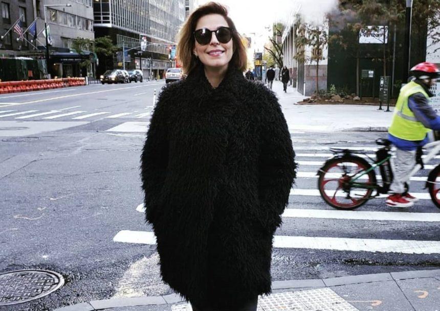 Κατερίνα Παπουτσάκη: Πρωινή βόλτα με τον νεογέννητο γιο της! (pic) | tlife.gr