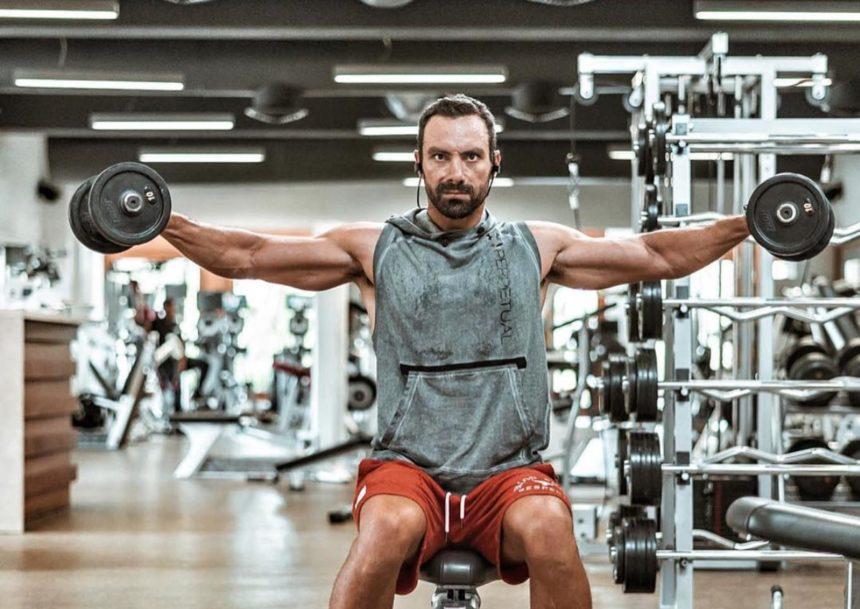 Σάκης Τανιμανίδης: Λιώνει στον γυμναστήριο στον Άγιο Δομίνικο! [pics] | tlife.gr