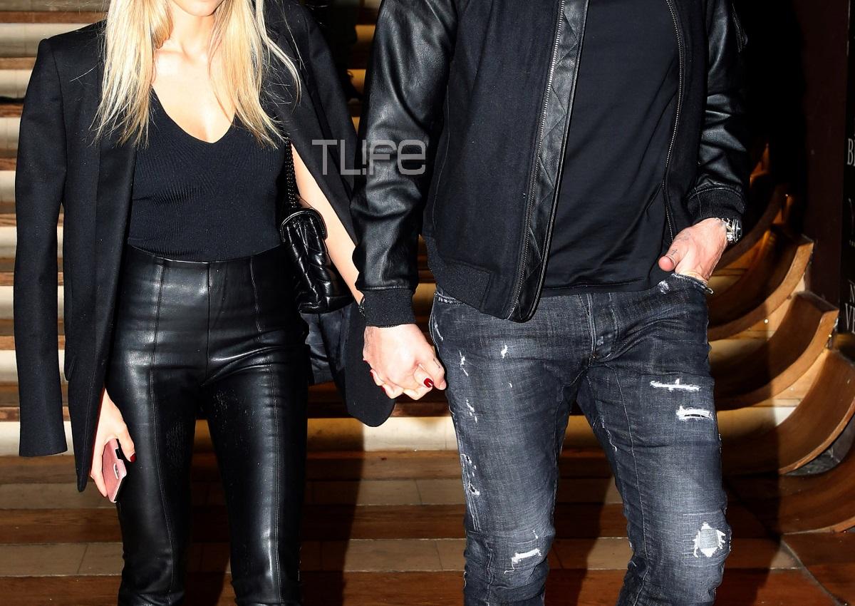 Νέα βραδινή έξοδος για το ερωτευμένο ζευγάρι της ελληνικής showbiz [pics]