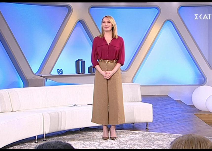 Όλες οι λεπτομέρειες για το look της Τατιάνας (14/03) | tlife.gr