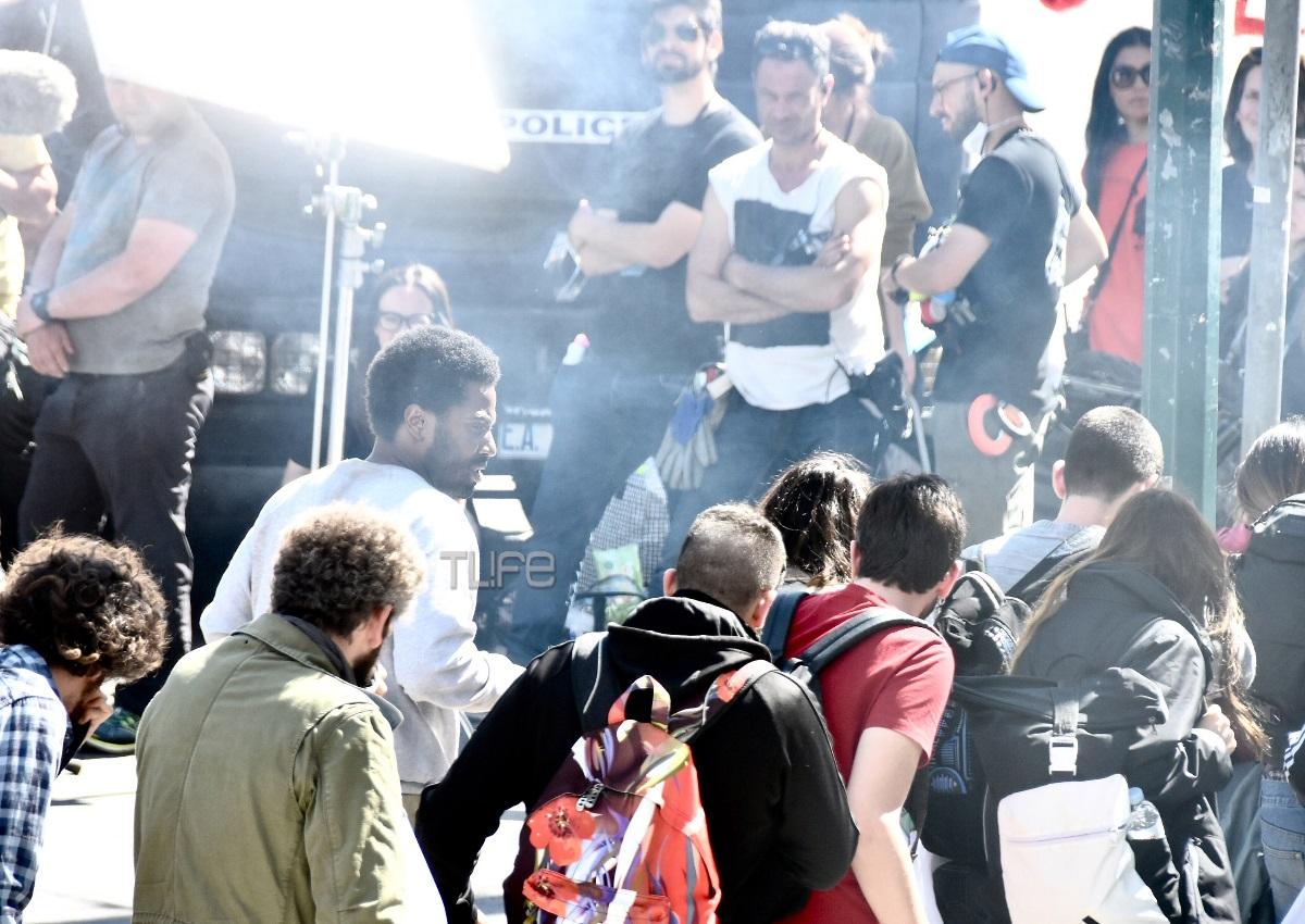 Λάμψη αστέρων στο κέντρο της Αθήνας: Το TLIFE στα γυρίσματα της χολιγουντιανής ταινίας «Born To Be Murdered»! (pics) | tlife.gr