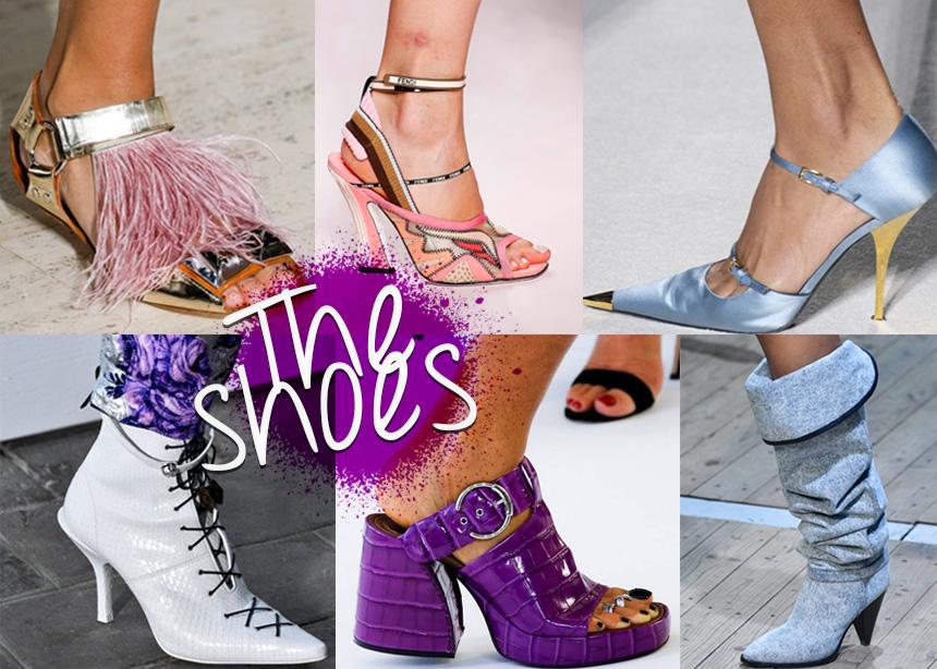 Παπούτσια Άνοιξη-Καλοκαίρι 2019: Τα 50 ωραιότερα πoυ είδαμε στα catwalks!