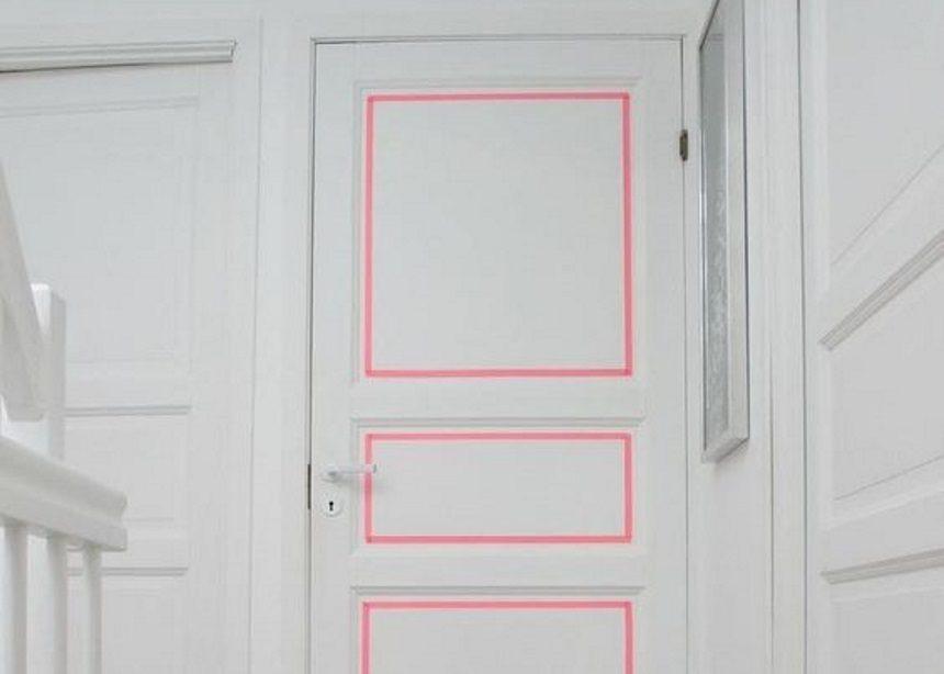 Washi Tape Art: Πώς θα ανανεώσεις με ελάχιστο κόστος τις πόρτες του σπιτιού σου! | tlife.gr