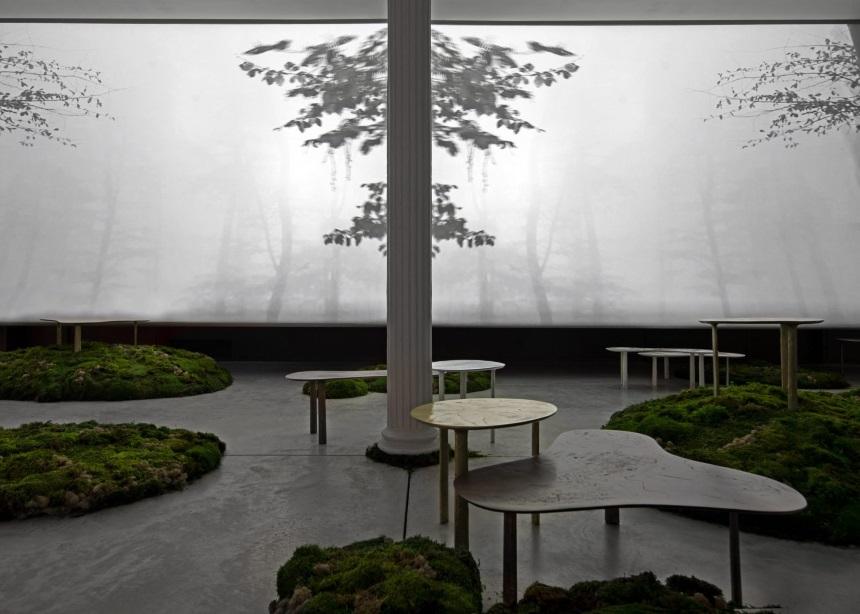 Το παραμυθένιο installation που στήθηκε για τις νέες συλλογές προϊόντων του studio Yabu Pushelberg