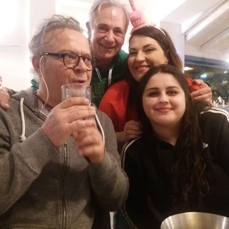 Kατερίνα Ζαρίφη: Γενέθλια με… γαριδομακαρονάδα και αγαπημένους φίλους! [pics]   tlife.gr