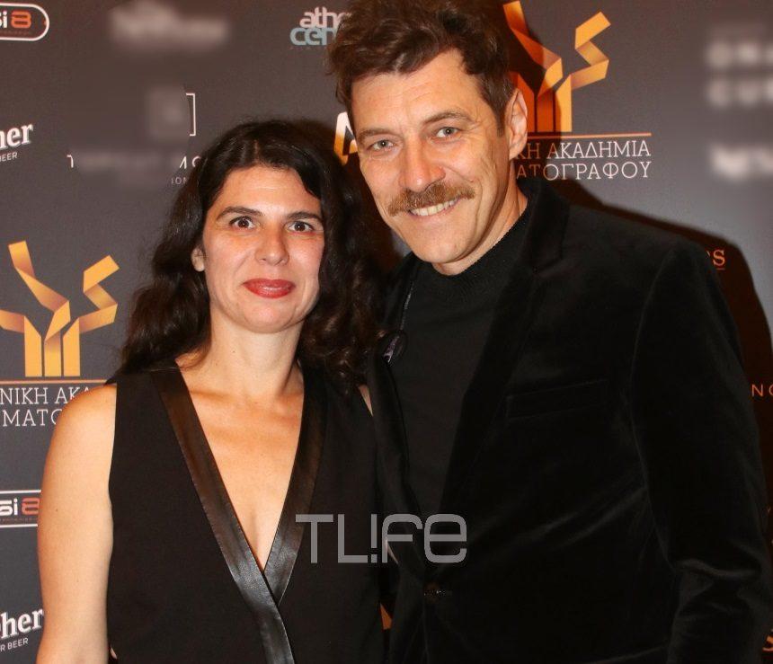Γιάννης Στάνκογλου: Βραβεύτηκε από την Ελληνική Ακαδημία Κινηματογράφου, έχοντας τη σύζυγό του στο πλευρό του [pics]