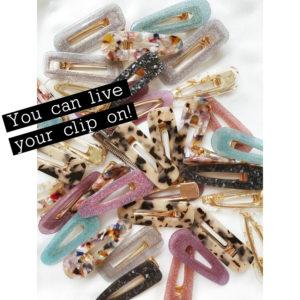 Can't get enough! Και άλλες ιδέες για να φορέσεις clips στα μαλλιά σου (μέχρι να σε πείσουμε να το κάνεις)!