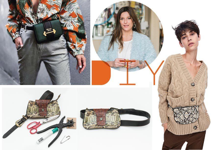 DIY: Βήμα – βήμα πως να φτιάξεις μόνη σου μία belt bag | tlife.gr