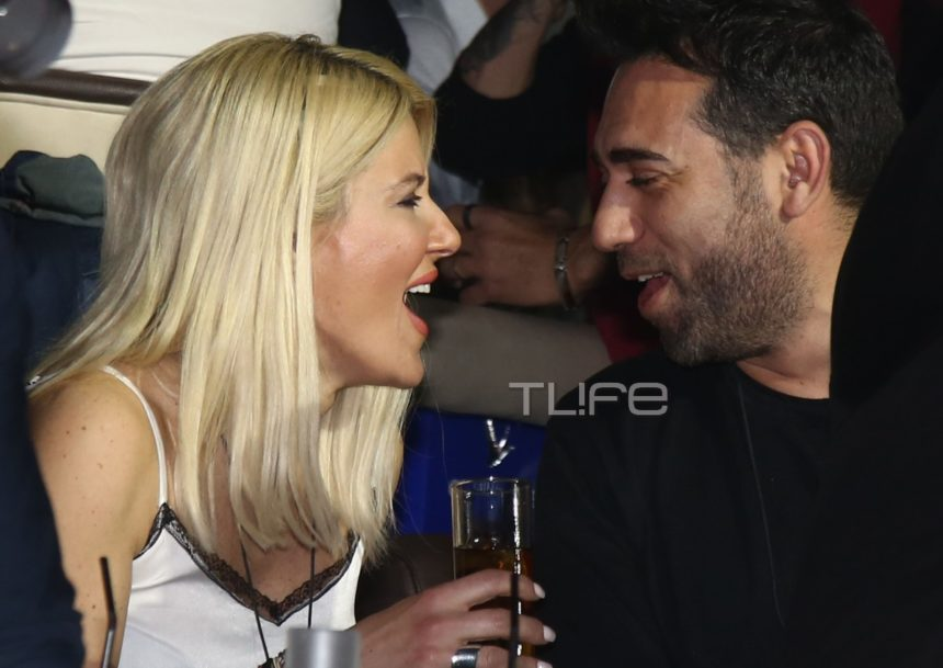 Εύη Φραγκάκη: Σπάνια βραδινή έξοδος με τον γοητευτικό σύντροφό της! (pics) | tlife.gr