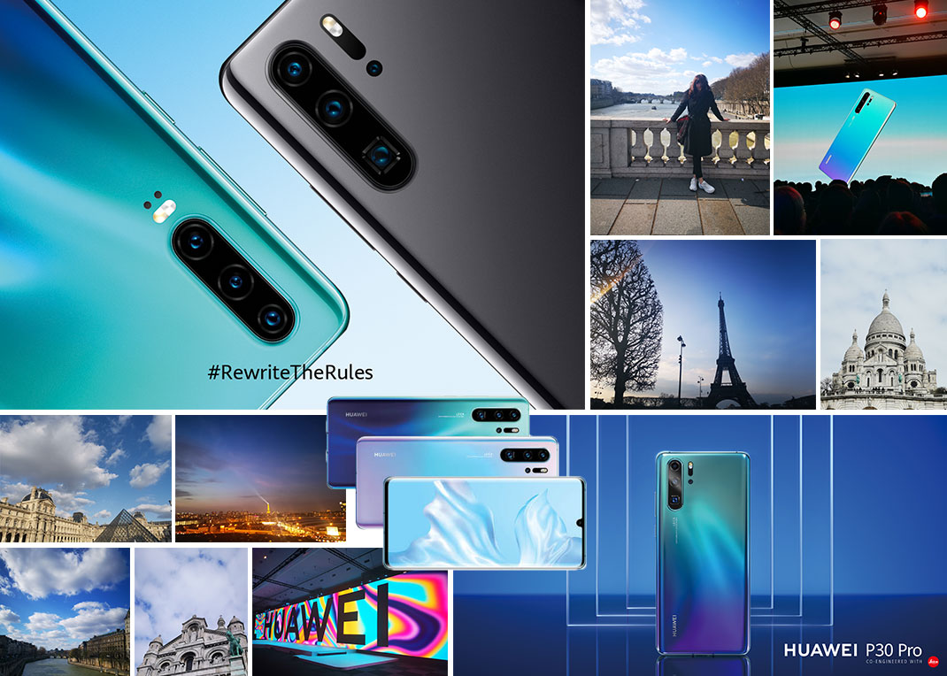 Huawei P30: Θα σε κάνω μια βόλτα στο Παρίσι, όσο θα μιλάμε για το καινούριο κινητό που σκέφτεσαι να αγοράσεις!