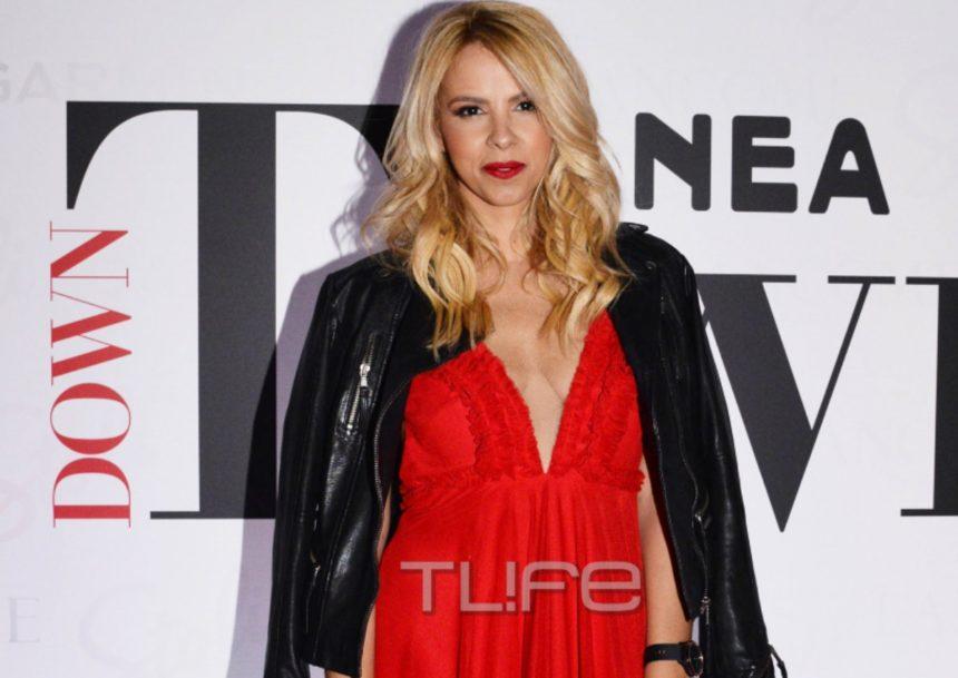 Φωτιά στα κόκκινα η Τζένη Μελιτά στο λαμπερό party του Down Town! (pics) | tlife.gr