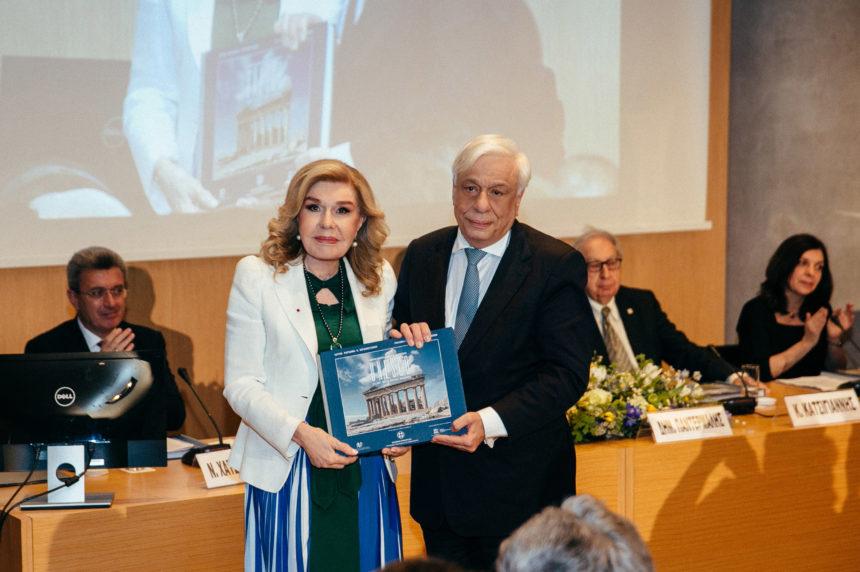 Μαριάννα Βαρδινογιάννη: Η εκδήλωση για τα Μνημεία Παγκόσμιας Κληρονομιάς Φωτογραφίες | tlife.gr