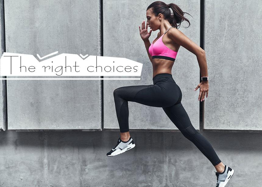 Έτοιμη για γυμναστική! Είσαι σίγουρη ότι έχεις φάει σωστά; Οι επιλογές που πρέπει να κάνεις για να νιώθεις καλά με την άσκηση