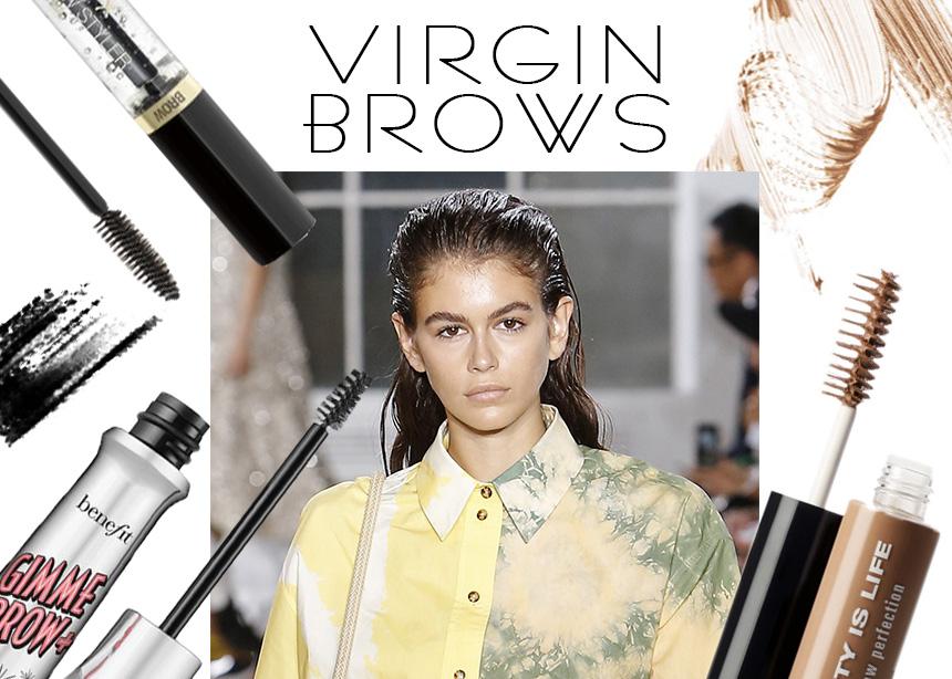 Virgin brows: ποια είναι η τάση και γιατί η μάσκαρα φρυδιών είναι σημαντικότερη από την μάσκαρα βλεφαρίδων!