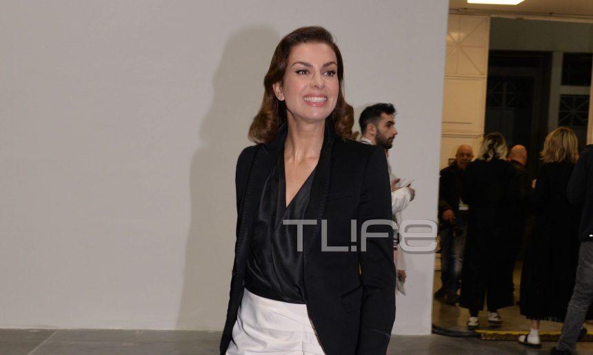 Τζίνα Αλιμόνου: Chic εμφάνιση σε βραδινή έξοδο μετά από καιρό! [pics] | tlife.gr