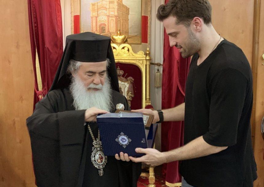 Κωνσταντίνος Αργυρός: Η επίσκεψη στον Πατριάρχη Ιεροσολύμων [pics]   tlife.gr