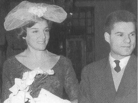 Μάρω Κοντού: Η σπάνια φωτογραφία του γάμου της με τον έρωτα της ζωής της Αριστείδη Φουκς! [pic]
