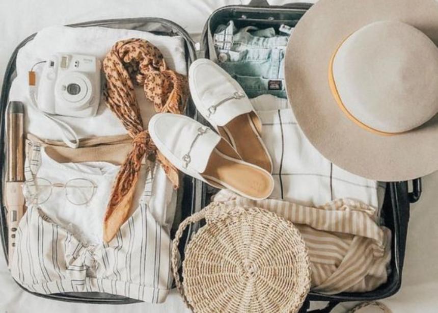 3 μυστικά για εύκολο πακετάρισμα βαλίτσας!
