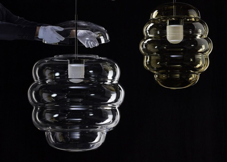 Blimp: Μια contemporary συλλογή φωτιστικών από φυσητό κρύσταλλο | tlife.gr
