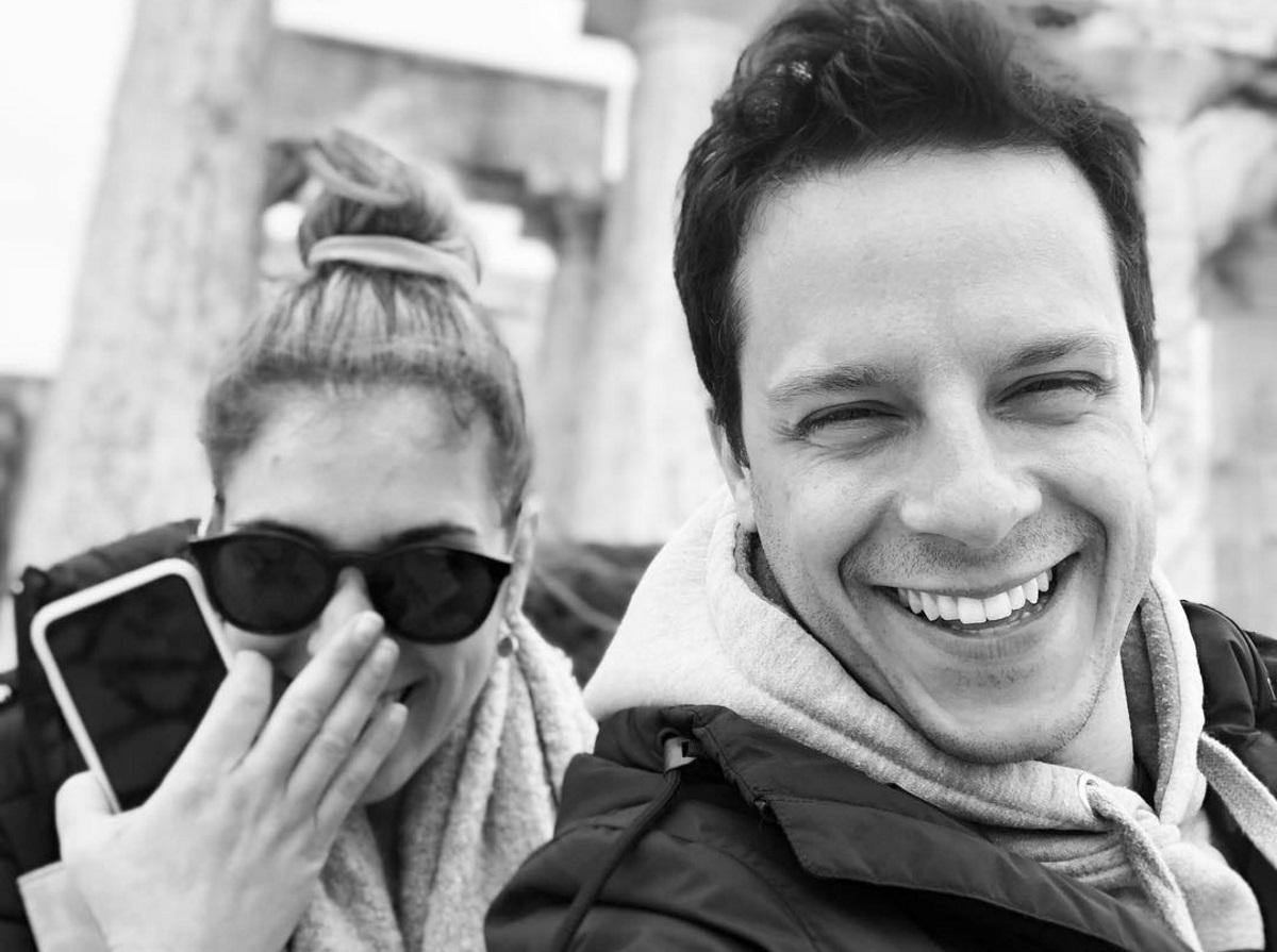 Δημήτρης Μακαλιάς – Αντιγόνη Ψυχράμη: Πασχαλινή εξόρμηση στην Τήνο για το ερωτευμένο ζευγάρι [pics]