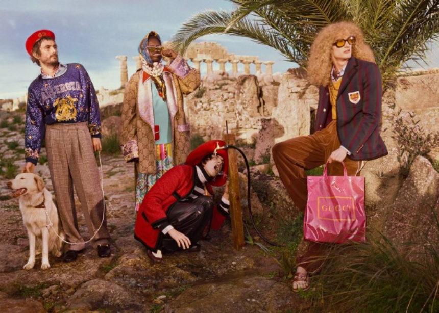 O oίκος Gucci φωτογράφισε την καμπάνια του σε έναν άλλο… Παρθενώνα | tlife.gr