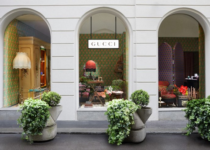 "Gucci Décor: Ο οίκος ""στήνει"" ένα διαμέρισμα στο Μιλάνο για να παρουσιάσει την συλλογή με είδη σπιτιού!"