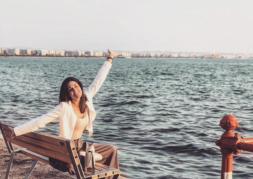Ιωάννα Τριανταφυλλίδου: Η όμορφη ηθοποιός ποζάρει σε ανοιξιάτικο σκηνικό και εντυπωσιάζει | tlife.gr