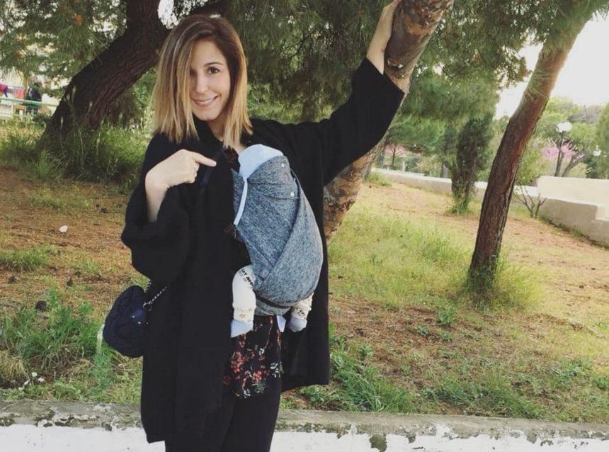 Κατερίνα Παπουτσάκη: Οι βόλτες με τον νεογέννητο γιο της και η επιστροφή στα κιλά της ένα μήνα μετά τη γέννησή του! [pics] | tlife.gr