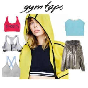Γυμναστήριο: top και jacket