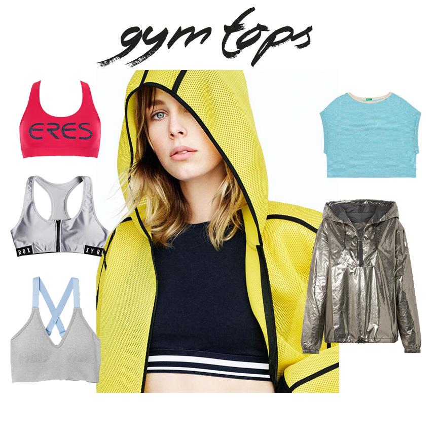 Γυμναστήριο: top και jacket | tlife.gr