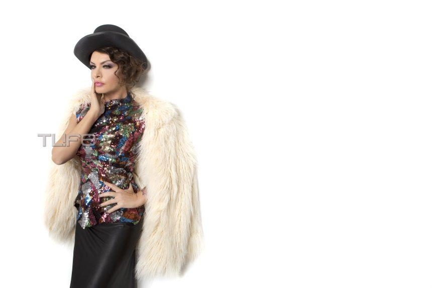 Η Νίνα Λοτσάρη, όπως δεν την έχεις ξαναδεί! Πρωταγωνίστρια στο fashion clip του Celebrity Skin! video