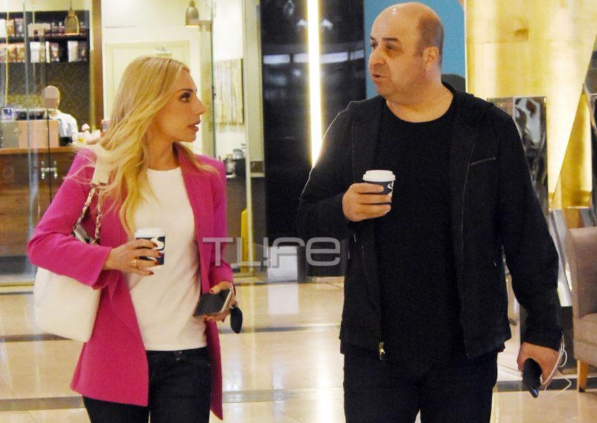 Μάρκος Σεφερλής – Έλενα Τσαβαλιά: Βόλτα για δύο σε εμπορικό κέντρο! (pics)   tlife.gr