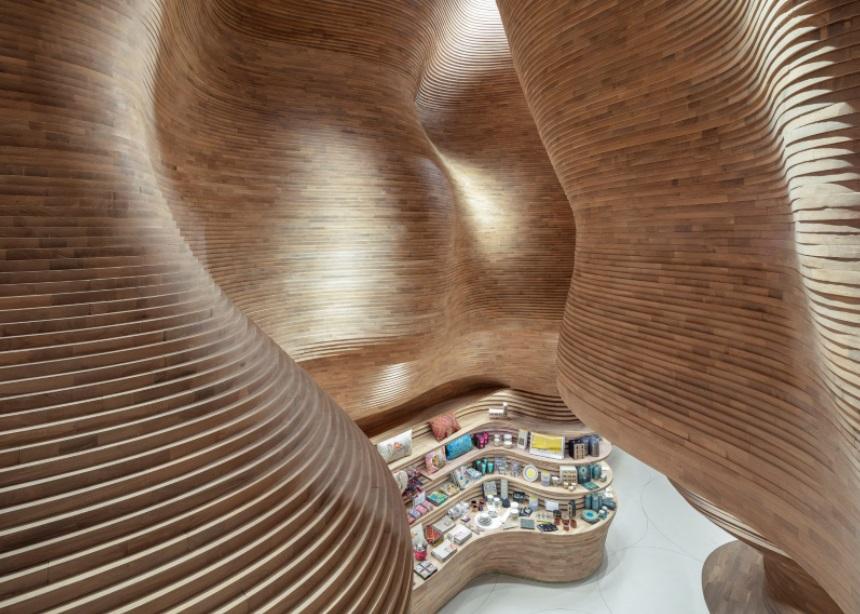 Μια βόλτα στο εντυπωσιακό Εθνικό Μουσείο του Κατάρ