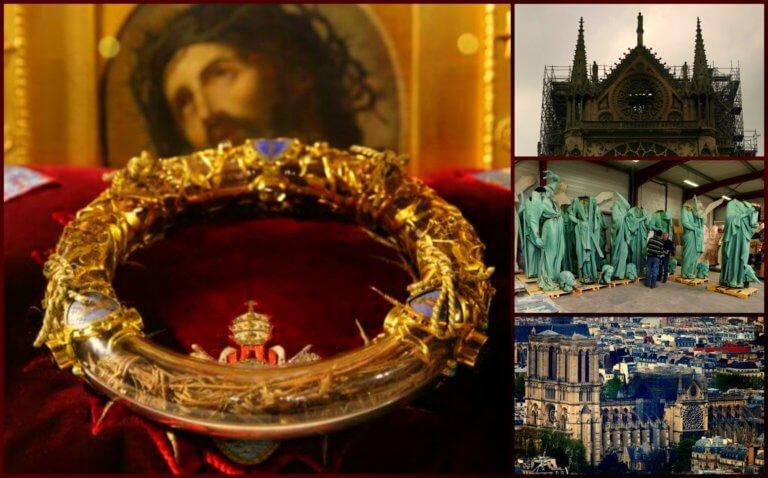 Παναγία των Παρισίων: Ιδού οι θησαυροί που «έλιωσαν» στις στάχτες! Ποιοι σώθηκαν | tlife.gr