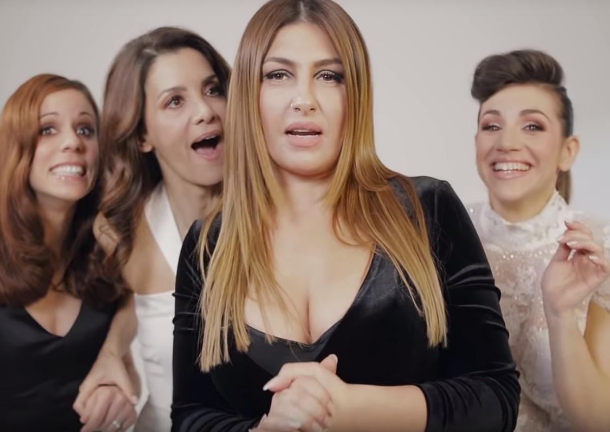 """Έλενα Παπαρίζου: Δες πώς γυρίστηκε το βίντεο κλιπ του """"Άσκοπα Ξενύχτια"""" με Λέχου, Στεφανίδη και Δήμου!"""