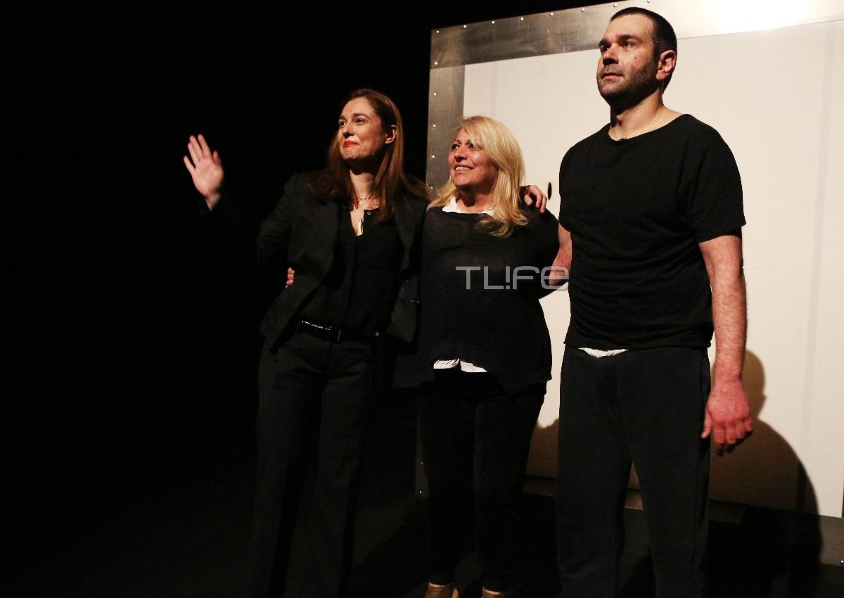 Θάλεια Ματίκα: Απόλαυσε τον σύζυγό της, Τάσο Ιορδανίδη, στην θεατρική πρεμιέρα του! (pics)