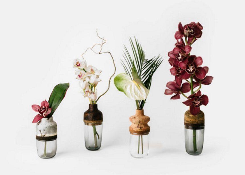 The Marais collection: Μια οικολογική συλλογή βάζων από θραύσματα ξύλου και γυαλιού | tlife.gr