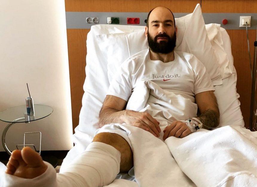 Βασίλης Σπανούλης: Το πρώτο μήνυμά του μετά το χειρουργείο! Φωτογραφίες από το νοσοκομείο | tlife.gr