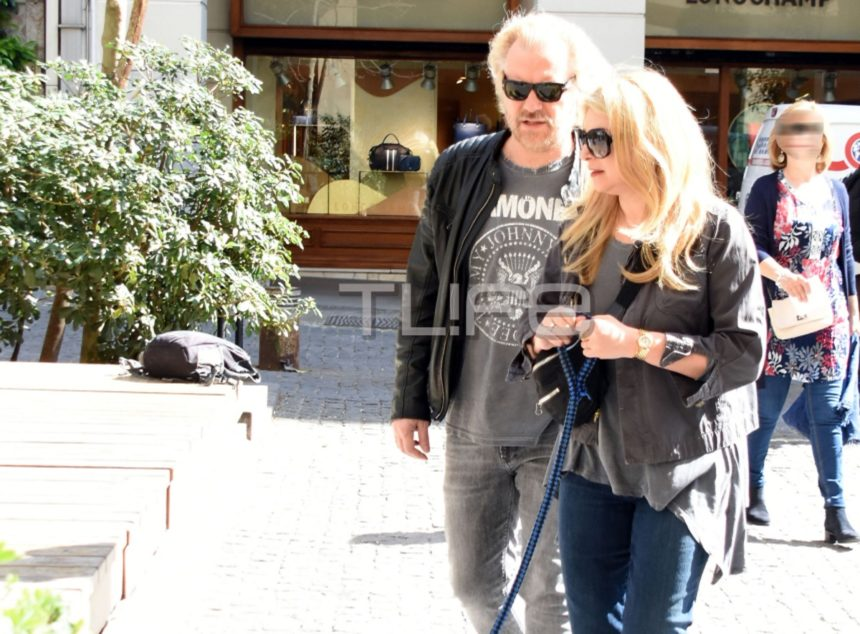 Χριστίνα Πολίτη – Κώστας Σπυρόπουλος: Οι πρωινές βόλτες στο κέντρο της πόλης! [pics] | tlife.gr