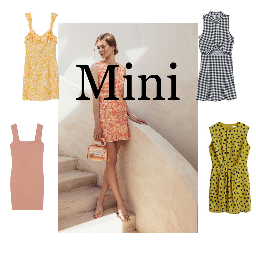 9baa914d3487 Τα mini φορέματα είναι σίγουρα η πιο sexy επιλογή και χρειάζεται ωραία  πόδια. Επίλεξε το στη γραμμή που ταιριάζει καλύτερα σε στο σώμα σου και  συνδύασε το ...