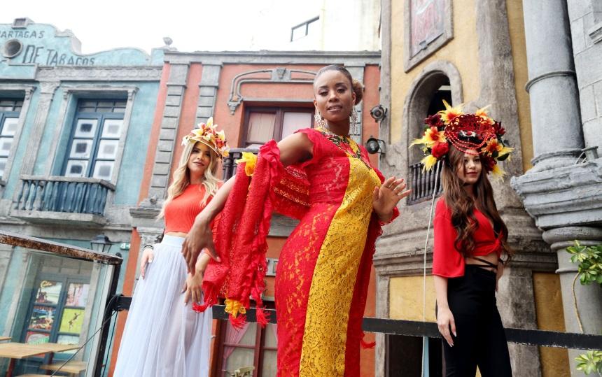 Shaya: Γύρισε το νέο της video clip με ethnic διάθεση! Backstage φωτογραφίες από τα γυρίσματα